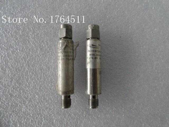 [BELLA] M/A-COM 2087-6010-13 20090R 0.01-12.4GHZ Coaxial Detector SMA