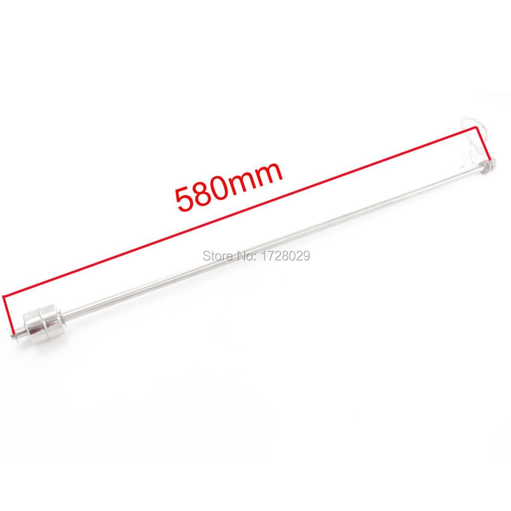 10mm Gewinde Durchmesser Angepasst Float Schalter Einzigen Ball 580mm Flüssigkeit Wasser Level Sensor Schwimm