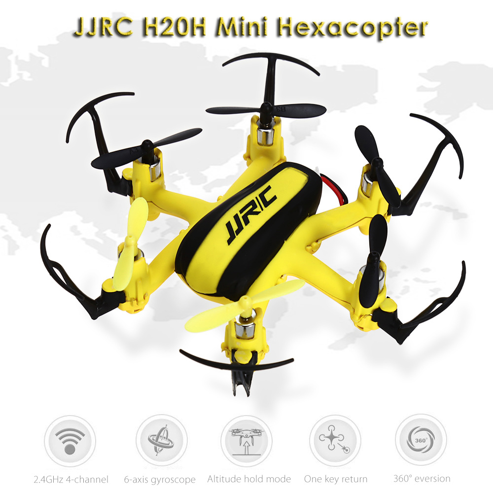 JJRC RC Drone Dron Radio Control Fly Helicopter 3D Rollover Hexacopter 2.4GHz 4CH 6 Axis Gyro RTF Drones with Light Quad Copters jjrc rc helicopter 2 4g 4ch 6 axis gyro rc quadcopter rtf air press altitude hold with lcd hd camera rc drone dron hover copters