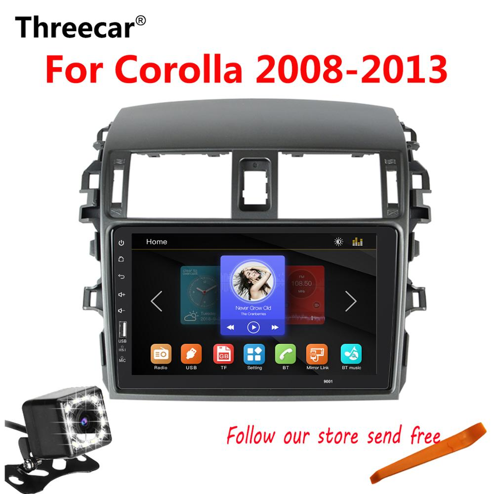 2din 9 Autoradio Mirrorlink Bluetooth Android Car Multimedia MP5 Player Per Toyota Corolla 2008 2009 2010 2011 2013 nessun Android2din 9 Autoradio Mirrorlink Bluetooth Android Car Multimedia MP5 Player Per Toyota Corolla 2008 2009 2010 2011 2013 nessun Android