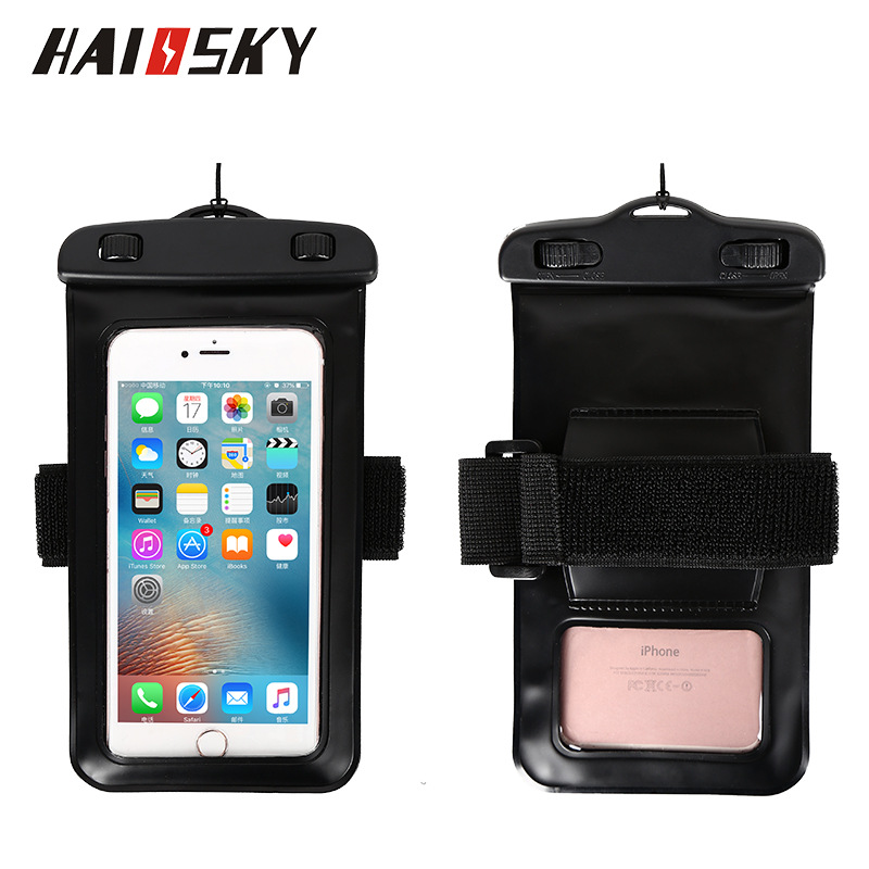 Haissky PVC Waterproof Bag Underwater Pouch Phone Case For iPhone X Samsung S9 S8 Plus S7 S6 S5 S4 S3 Huawei P20 Universal Cover