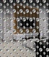 10 m/Intérieur décoratif verre cristal perle rideau, mariage fournitures de fête stade fond décoration