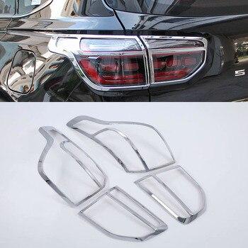 Para Sportage R 2018 em Luzes Da Cauda do Farolim Traseiro Do Carro Covers Chrome Guarnição Chromium Styling Decoração Externa