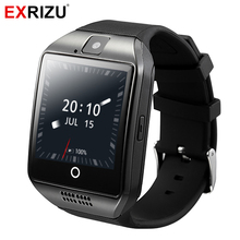 EXRIZU Q18 Plus Android 4 4 Smart Watch MTK6572 Dual core 512M 4GB Support WIFI 2G