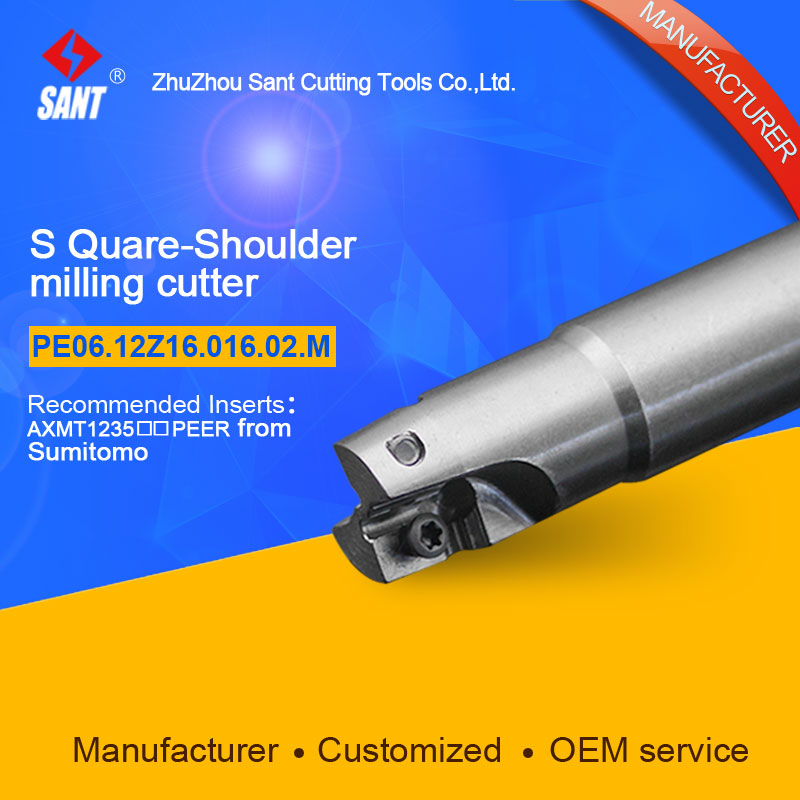 Customized size Square Should Milling Cutter Kr 90 PE06.12Z16.016.02.M, with APKT1705PER insert  цены
