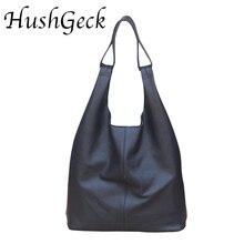 HG Super fiber leather Casual Women Bag Soft  Fashion Shoulder Bags Female Large Tote Bucket Shopping Handbag Liner