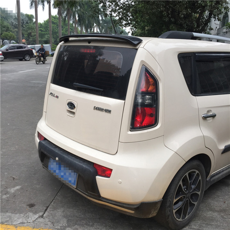 For Kia Soul 2009-2016 Rear Wing Spoiler, Trunk Boot Wings Spoilers paint ABS EMS transport