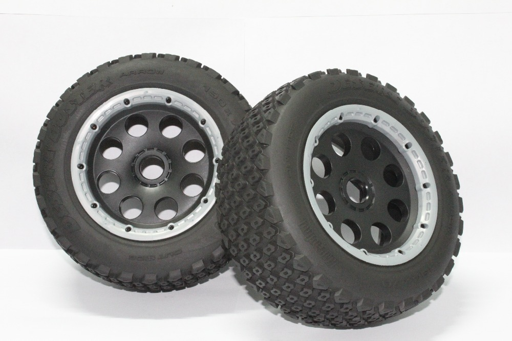 5T Rear Off road Wheel Set For 1/5 HPI rovan KM Baja 5T Parts 5t knobby wheel set for 1 5 hpi baja 5t