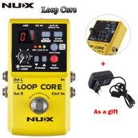 NUX Loop Core Violao Guitar Electric Effect Pedal Durable Guitarra Effect Pedal 6Hours Recording Time Guitar