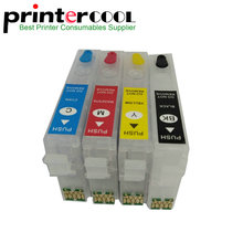 For EpsonT2971 T2962 T2963 T2964 Refillable Ink Cartridge XP231 XP431 XP241 XP-431 XP-231 XP-241 XP 431 231 One Time Chip 296 297 t296 t297 ciss inkjet cartridge dye ink refill kit for epson xp 231 xp 241 xp 431 xp 441 xp 231 241 xp231 xp241 printer