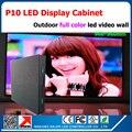 0.96 * 0.96 м открытый водонепроницаемый из светодиодов витрины p10 RGB полноцветный видео из светодиодов вывеска / из светодиодов видео-дисплей