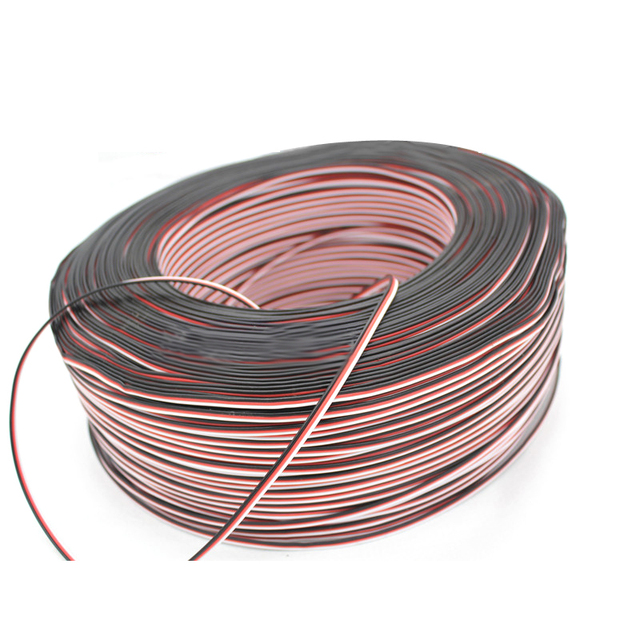Servo extension cable wire 10M 26AWG extended wiring 30 cores cord lead for RC drone helicopter cars diy accessories