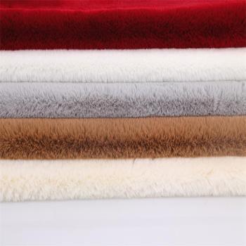 Imitation rabbit fur fabric faux fur 2cm