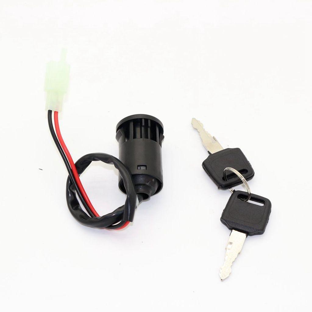 25CM Universal Motorcycle Scooter Ignition Key Switch for POCKET DIRT BIKE ATV SCOOTER U KS51