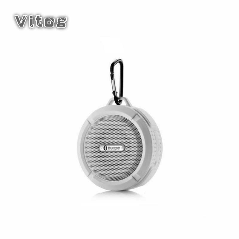 Bluetooth Speaker Mini Portable Waterproof Wireless Speakers Suction Cup support TF Card for iphones smart Phone outdoor speaker-in Portable Speakers from Consumer Electronics