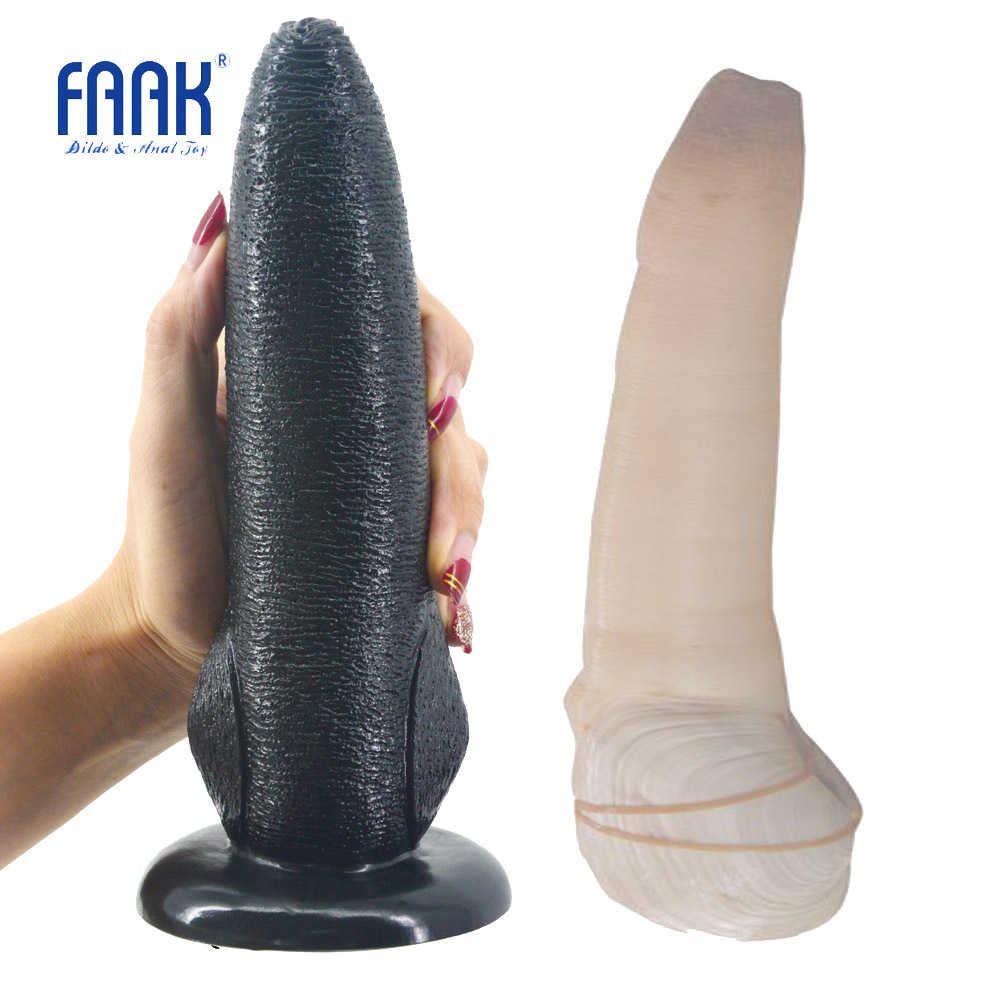 FAAK animal dildo with suction cup panopea abrupta design sex toys for women anal massage porn weired dildo big penis sex shop faak long anal dildo butt plug suction cup chinese cabbage design dildo sex products anal plug penis sex toys women man sex shop