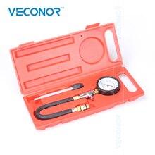 Medidor de presión del cilindro del motor, medidor de compresión de gasolina, 0 300PSI, G324