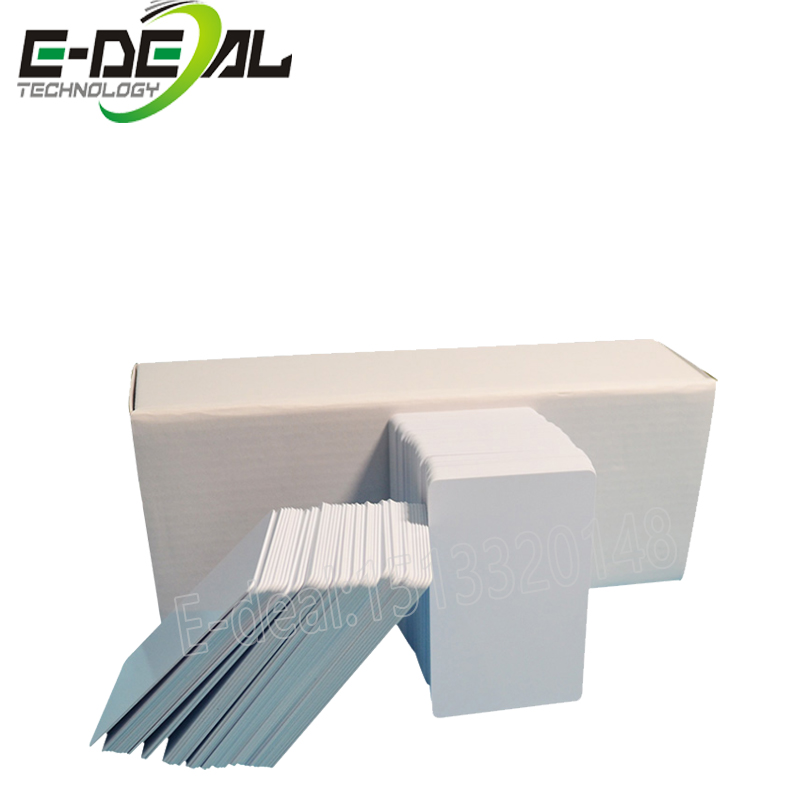 E-deal 230 pièces/boîte PVC enduit carte imprimante à jet d'encre carte blanche dédiée pour epson pour Canon imprimante à jet d'encre