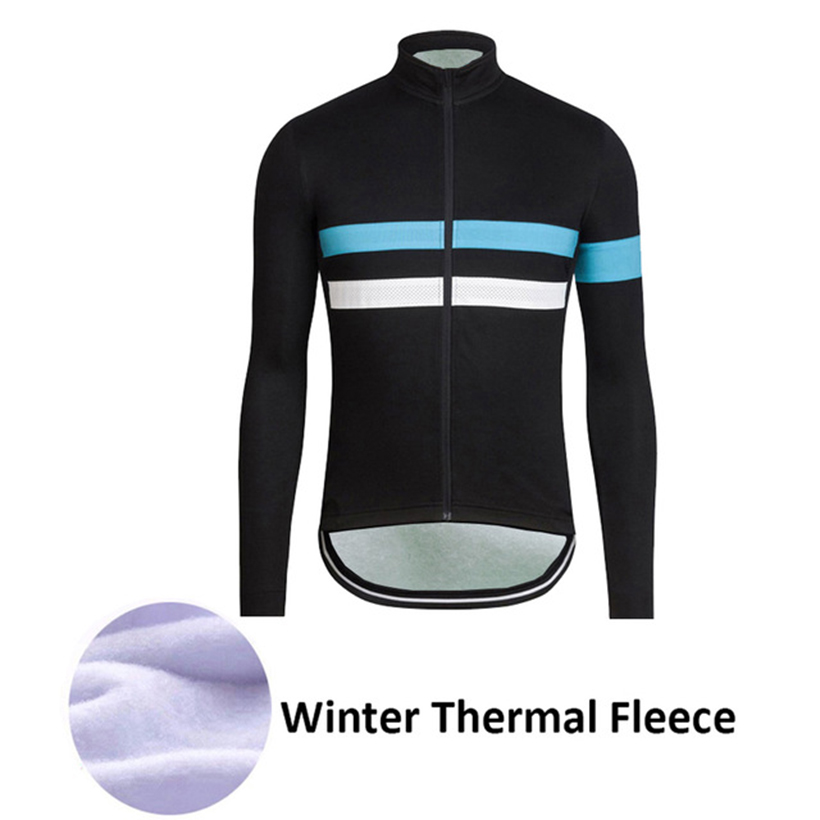 2017 New Men Pro Team Cycling Clothing Winter Cycling Jersey Long Sleeve Thermal Fleece Mountain Bike Jersey Bicycle Clothing купить недорого в Москве