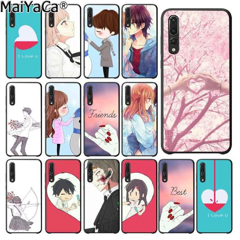 MaiYaCa أفضل صديق أسود جراب هاتف قذيفة لهواوي P20Lite P10 زائد Mate10Lite Mate20 P20 برو Honor10 View10