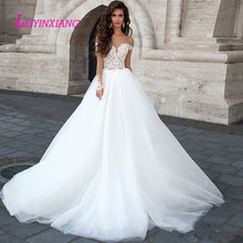 LEIYINXIANG Wedding Dress Bride Dress Ball Gown Backless