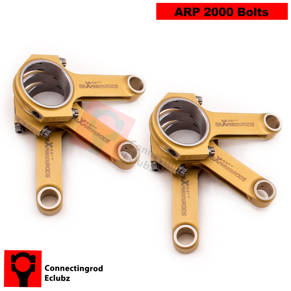Connecting Rod Rods for Porsche 911 Carrera 3 0 Conrods Con Rod 127 8mm Floating Pin