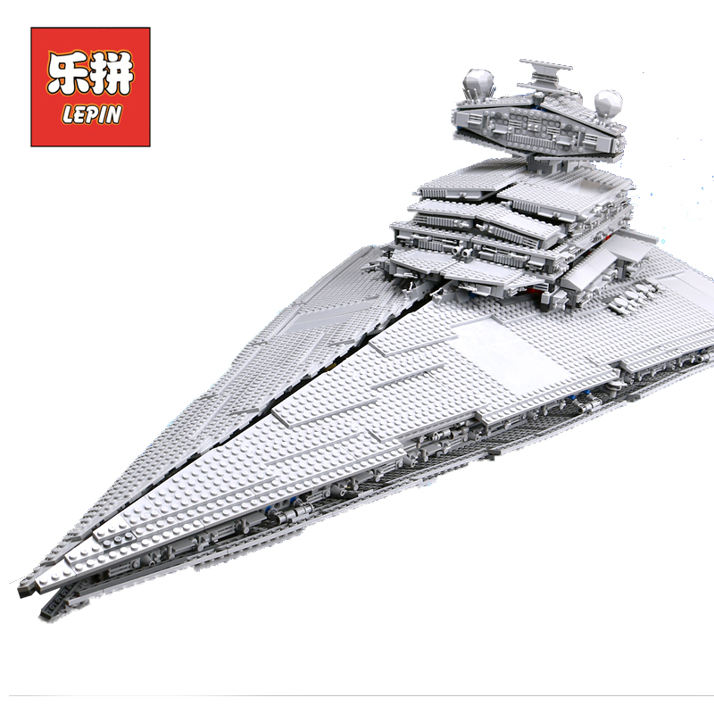 Lepin Starwars 05027 the Imperial Super Star Destroyer Compatible Legoinglys Star 10030 Wars Building Blocks Bricks Children Toy