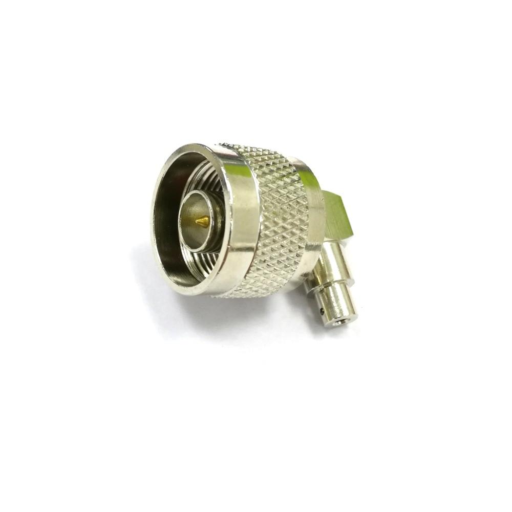 1pc N Type Male Plug Coax Connector Solder For Semi Rigid
