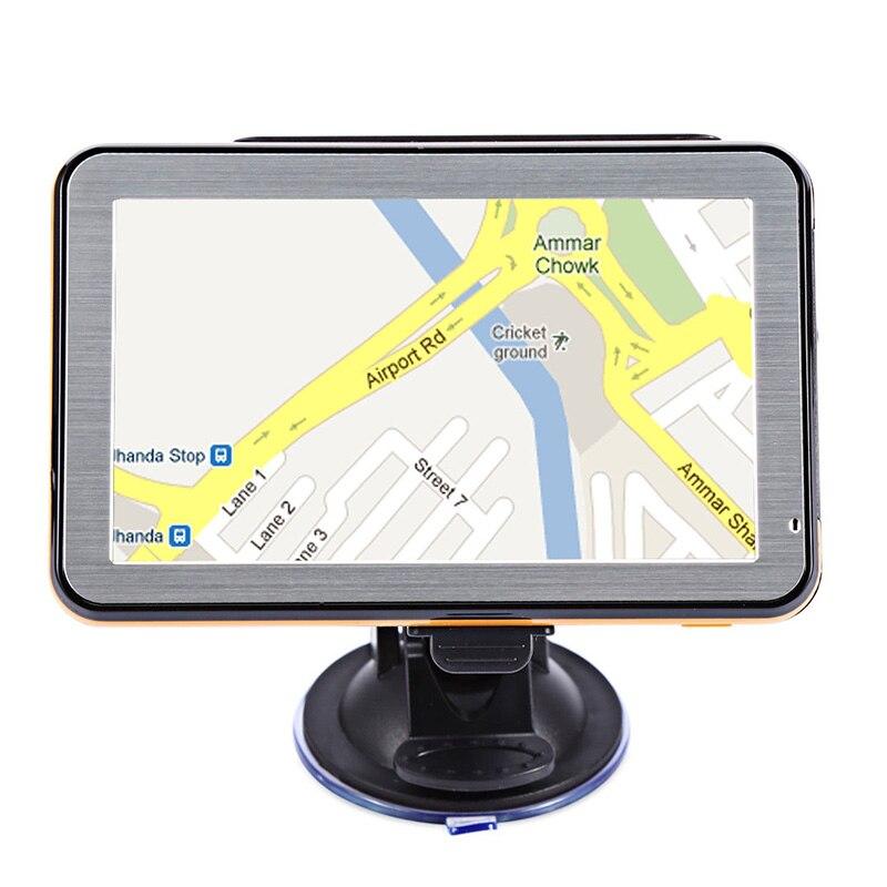 Zeepin 5 pouce GPS Navigation Wince Guidage Vocal De Navigation Automobile GPS Auto Carte Europe Du Nord/Amérique Du Sud Moyen-Orient australie