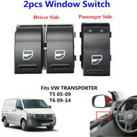 Fensterheber Schalter Fensterheber Schalter Geeignet für Volkswagen Transporter T5 T6 passagier fenster schalter (4 pins)-in Fenster-Motoren & Teile aus Kraftfahrzeuge und Motorräder bei