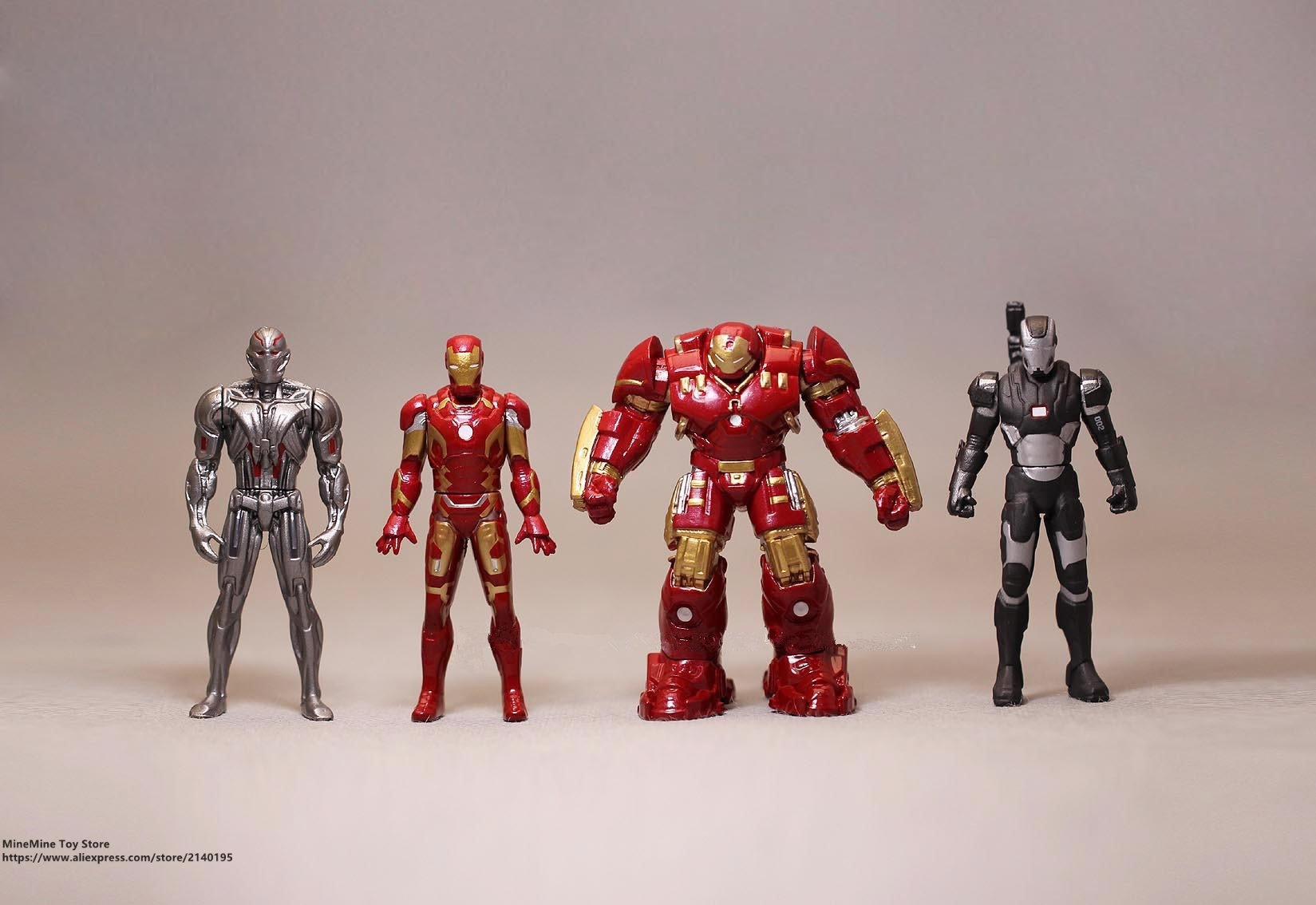 ZXZ Marvel Avengers Iron Man 3 Ultron 5-6cm metal Action Figure Anime Mini Decoration PVC Collection Figurine Toy model gift 30cm big size marvel iron man movable avengers movie anime figure pvc collection model toy action figure for friends gift