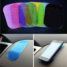 1PC Car Magic Anti-Slip Dashboard Sticky Pad Car Interior Non-slip Mat Holder For GPS Cell Phone Accessories