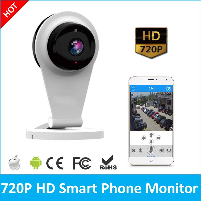 720P HD Smart IP Camera Wireless CCTV Home Security System WiFi Camera  720P  Intercom Smart Webcam Netcam P2P Baby Monitor baby monitor camera wireless wifi ip camera 720p hd app remote control smart home alarm systems security 1mp webcam yoosee app