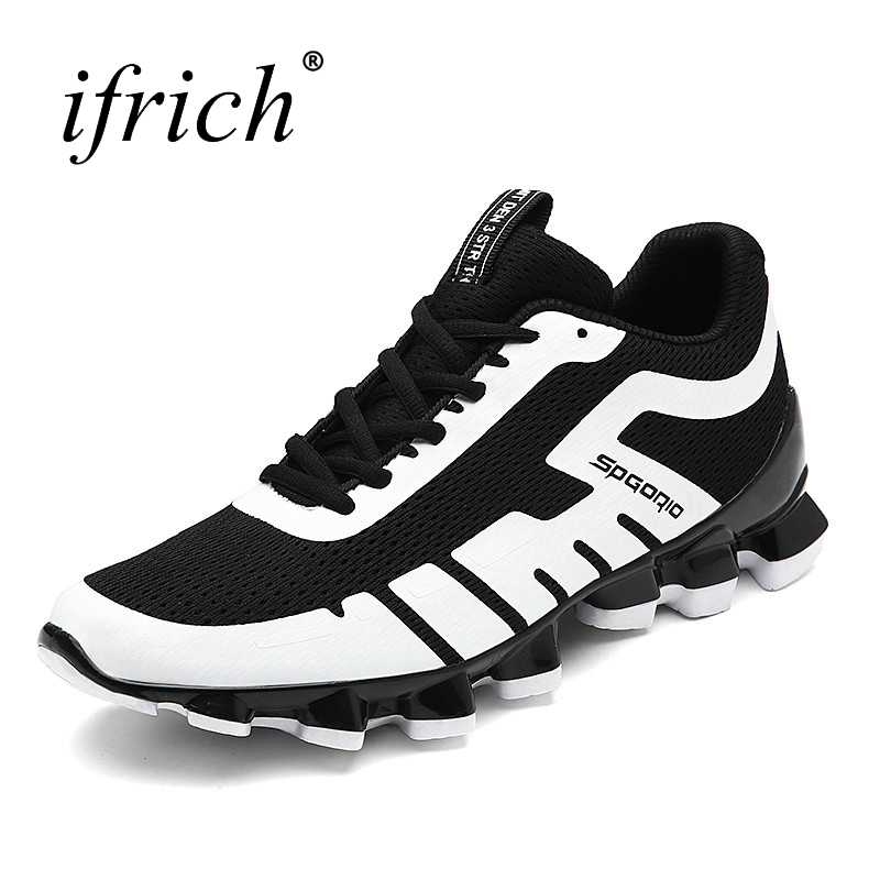 Ifrich Men Sneakers 2017 New Brand Shoes Running Men Sport Shoe Cool Mens Sports Shoe Good Quality Man Sport Shoes