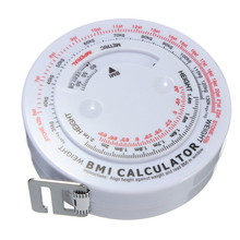 BMI Body Mass Index Retractable Tape Measure Calculator For Diet font b Weight b font font