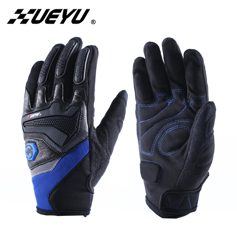 XUEYU Motorcycle Gloves Full Finger Moto Gloves Motorbike Bike Motocross Racing Luvas Enduro Road Riding Guantes Protective Gear pro biker motorcycle riding gloves breathable motocross off road racing moto full finger gloves with stainlesssteel injection