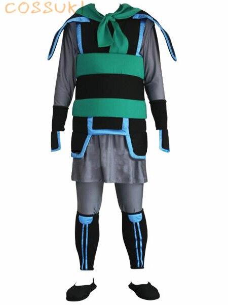 Free Shipping! Kingdom Hearts 2 Mulan Uniform Cosplay Costume ,Perfect Custom For You !