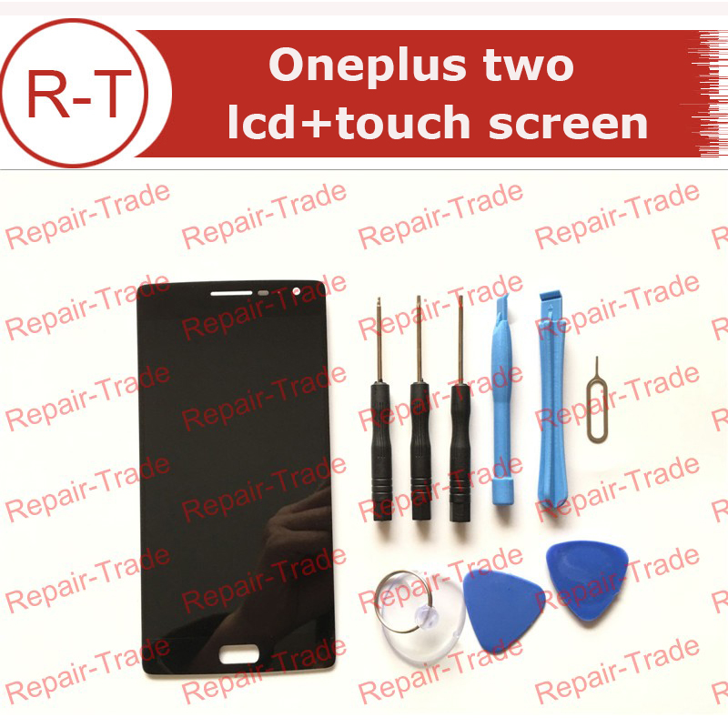 ФОТО For Oneplus two LCD Screen New LCD Display+Touch panel Digitizer Replacement For 1920X1080 FHD 5.5