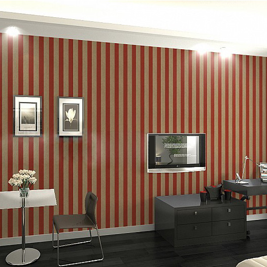 Contemporary and contracted stripe of the sitting room the bedroom TV setting wall paper Red black grey modelling wall wallpaper evaluation of aqueous solubility of hydroxamic acids by pls modelling