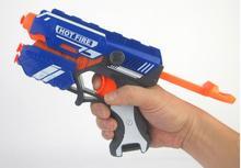 Hot Fire Strike Elite Безопасный Мягкой Пуля Игрушечный Пистолет и 10 мягкие Пули Ручной Игрушечный пистолет Airsoft Пистолет Arma Orbeez Игрушки