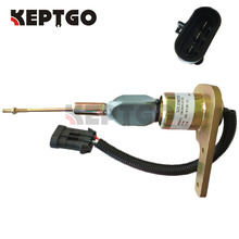 Stop Solenoid SA-4338-12,1820453C91,3913795 12V For Navistar DT466 Engine стоимость