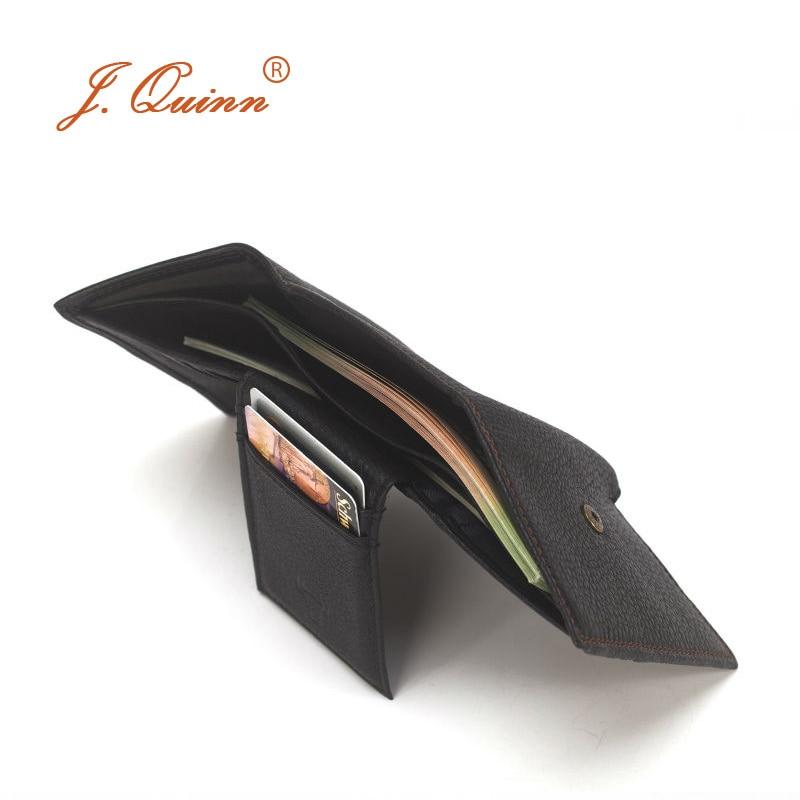 com três dobras carteiras mini Composição : Cowhide Leather