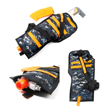 Tactical Equipment Gun shuttle Bullet Magazine for Nerf Gun Accessories Bullet Clip Compatible Tactical Backpack Ammo Pack