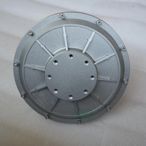 Image 5 - 500W 150 200 350RPM 24 48 96VDC verticale windturbine permanente magneet dynamo coreless huishoudelijke DIY generator motor