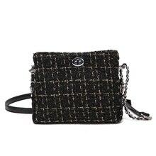 Mini Canvas Bag New Woman Shoulder Bags Handbags Delicate and Elegant Messenger