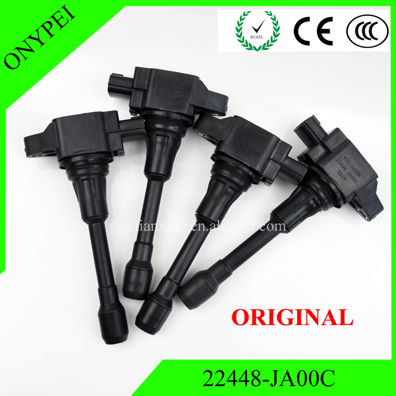 OEM 22448 JA00C AIC 2408N XIC AC06N Car Coils Ignition Coil For Nissan Altima Rogue Sentra