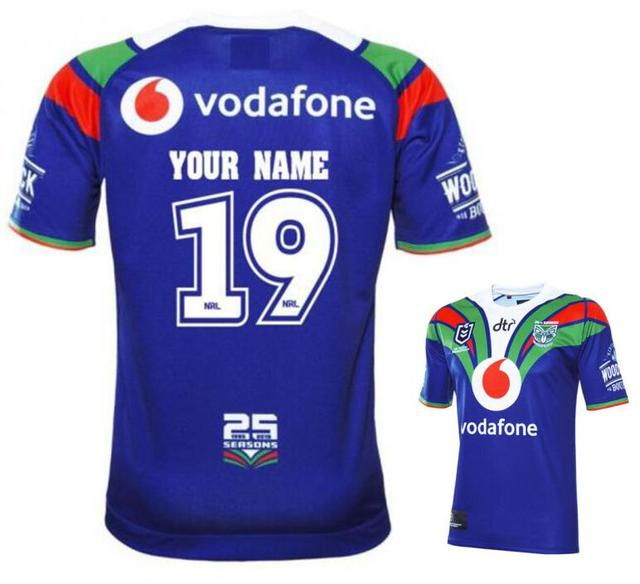 f8ecffe06ed 2019 New Zealand rugby Jerseys NRL jersey HOME Rugby League shirt shirts  Custom names and numbers