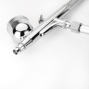 Image 2 - Double Action Dalimentation Aérographe Gravité Dair brosse Pistolet Kit De Maquillage Pour le Maquillage Nail Art de Métier de Conception De Tatouage De Décoration De Gâteau