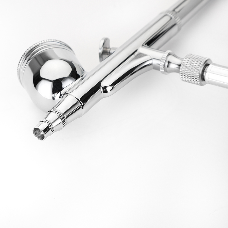 Image 2 - Dual Action Feed Airbrush Gravity Air brush Spray Gun Pen Kit For Makeup Nail Art Design Craft Tattoo Cake Decorating-in Spray Guns from Tools on