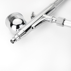 Image 2 - Feed Airbrush Gravity Air brush Pistola A Spruzzo a doppia Azione Kit Per Il Trucco Unghie artistiche di Design Artigianale Tatuaggio decorazione di Una Torta